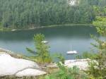 Covered Portage Cove - view from the cliff