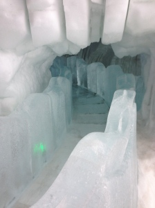 Ice Castle in Quebec