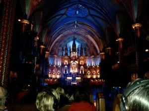 Basilica de Notre Dame - Montreal