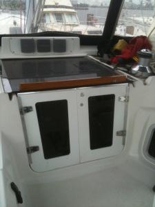 Cockpit doors installed
